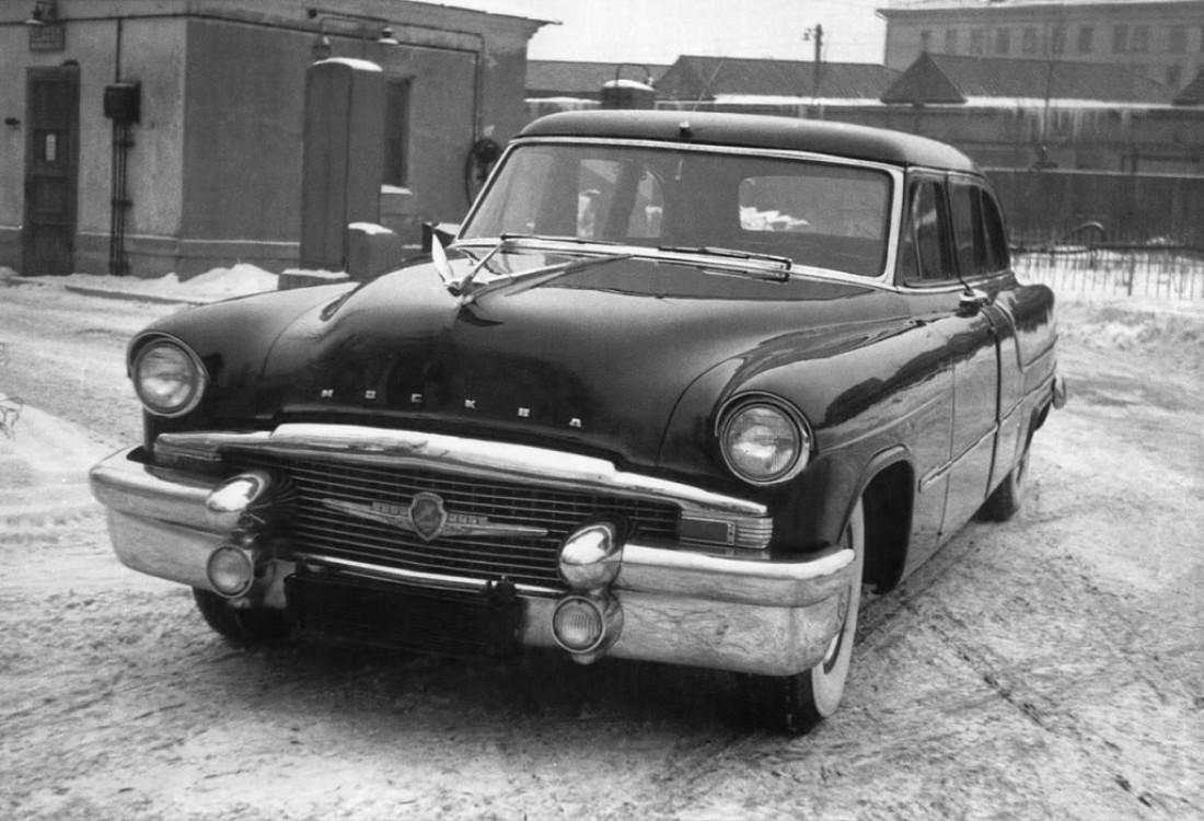 """ЗИЛ-111 """"Москва"""" (1956) — лимузин для"""