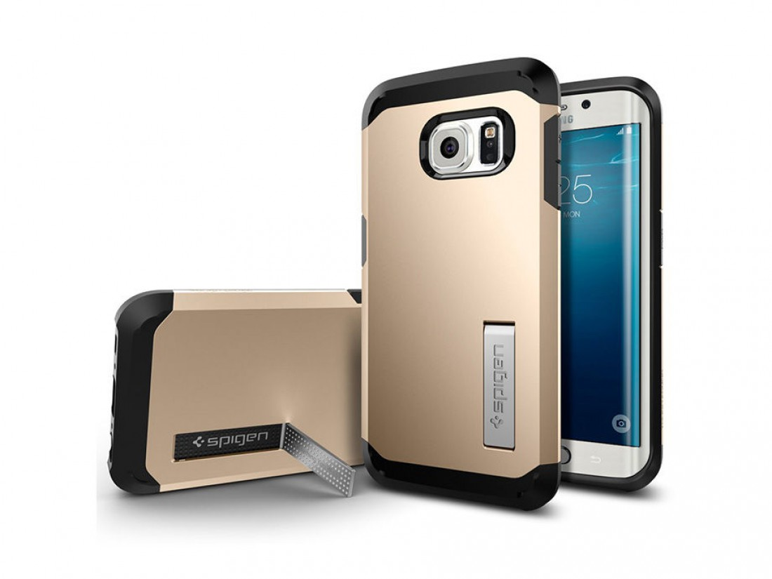 Galaxy S6 Edge Spigen Tough Armor — 800 гривен