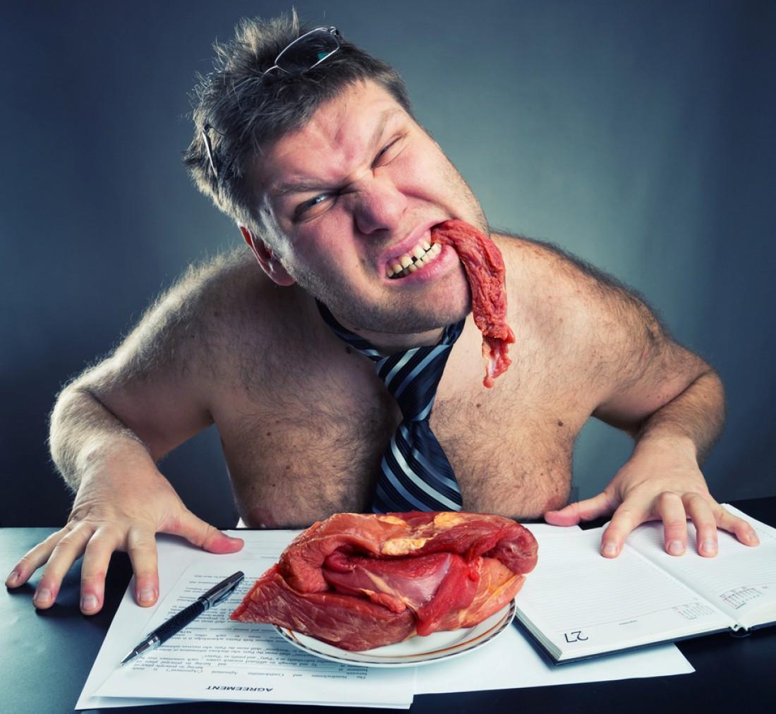 Всегда ешь больше мяса. Оно прибавит правильной массы, а не жирка
