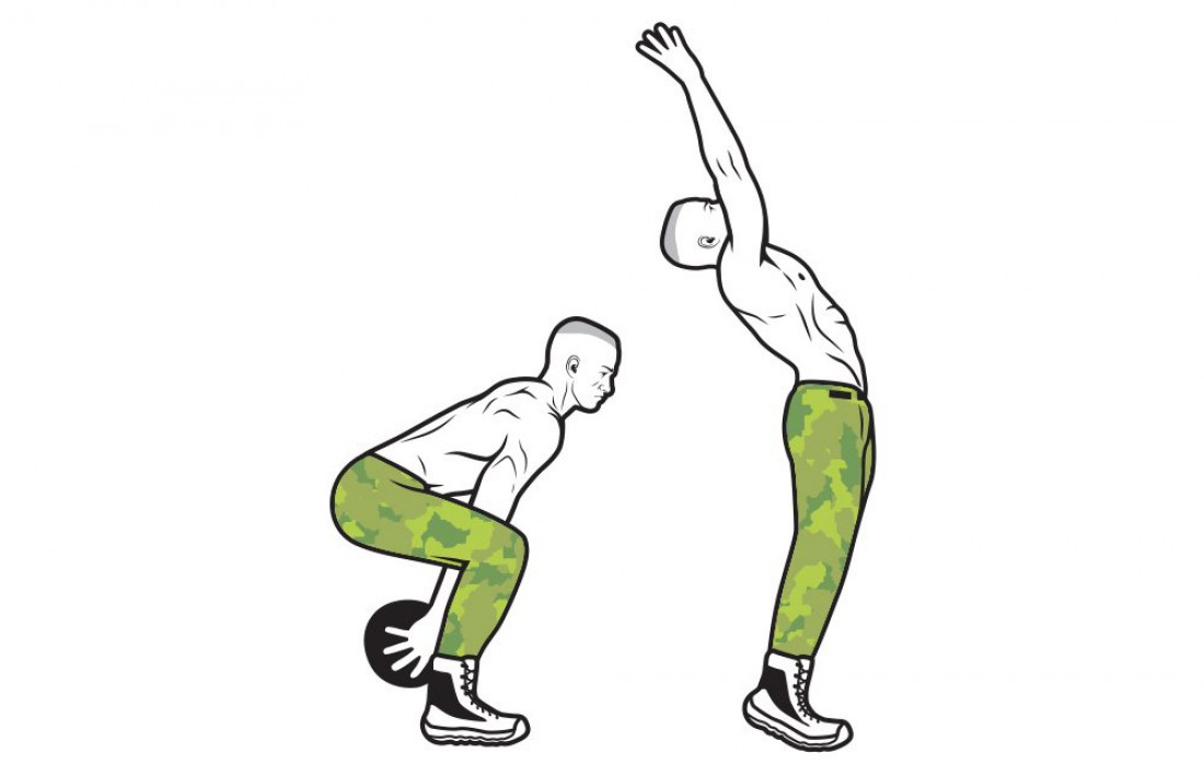Подбрось фитнес-мяч / узнай уровень своей взрывной силы