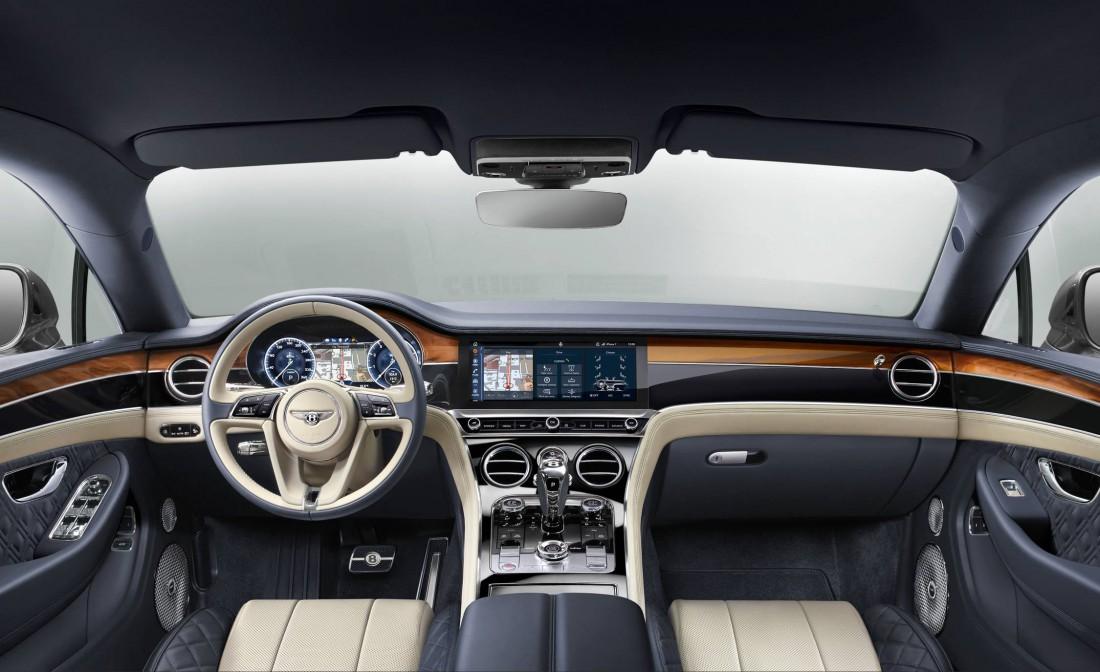 Приборная панель Bentley Continental GT 2018