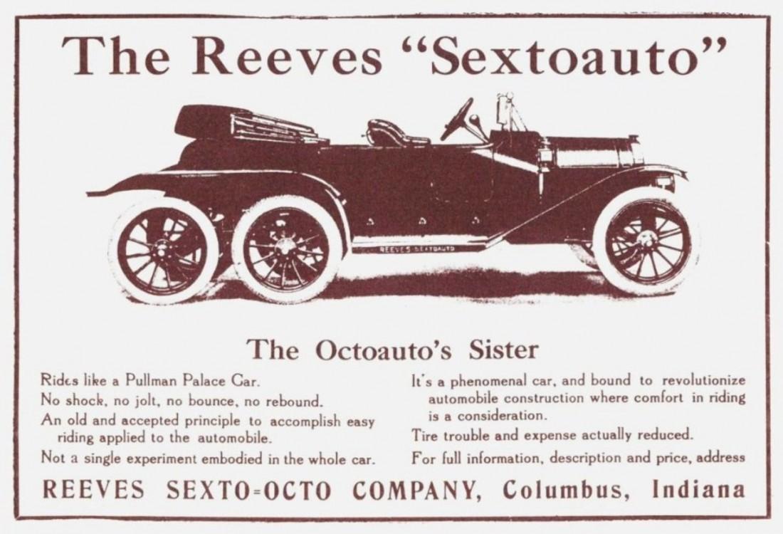 Reeves Sextoauto. Никому не понравилась — никто не купил