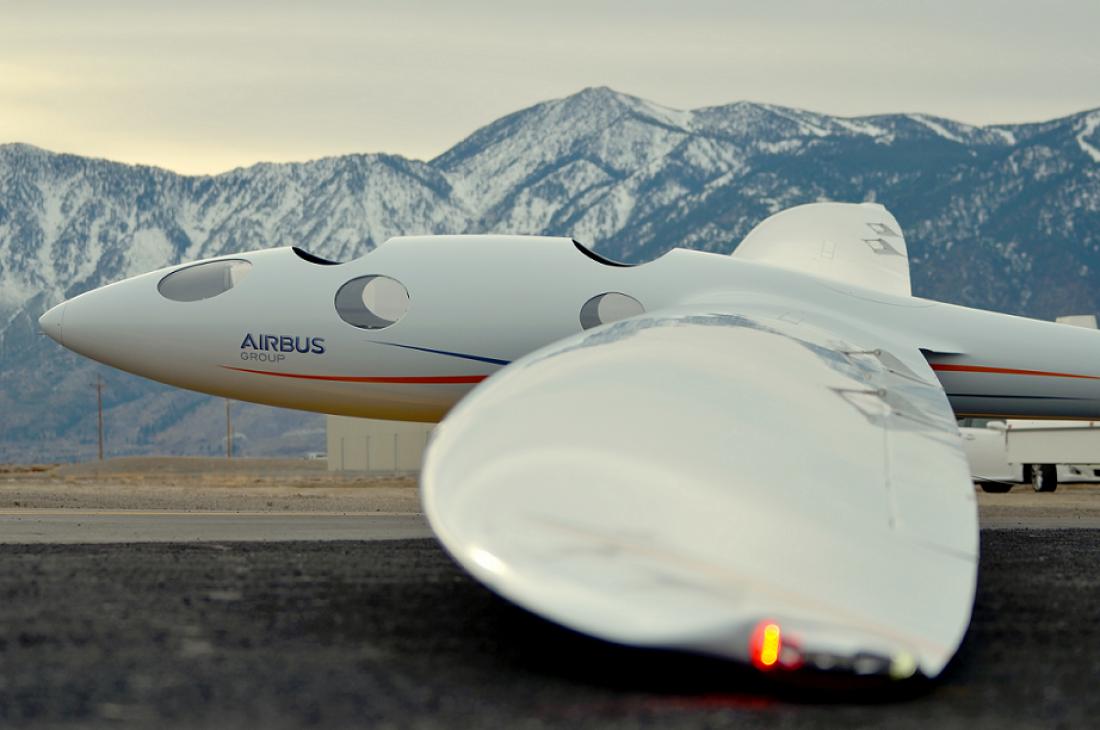 Airbus Perlan II, побывавший почти в космосе