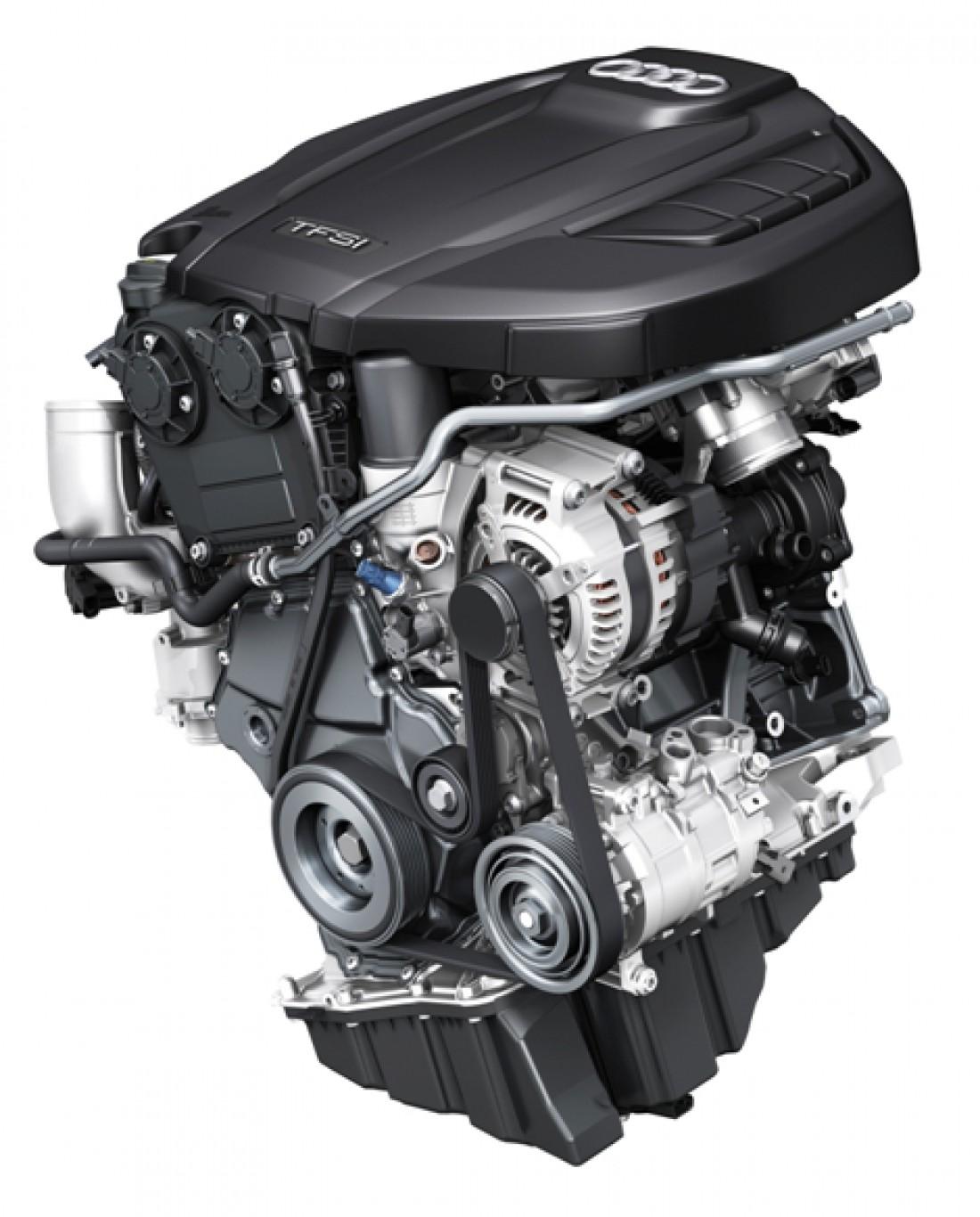 Новый двигатель Audi