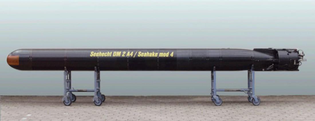 DM2A4 — немецкая 533-мм тяжелая электрическая торпеда рекордной дальности стрельбы