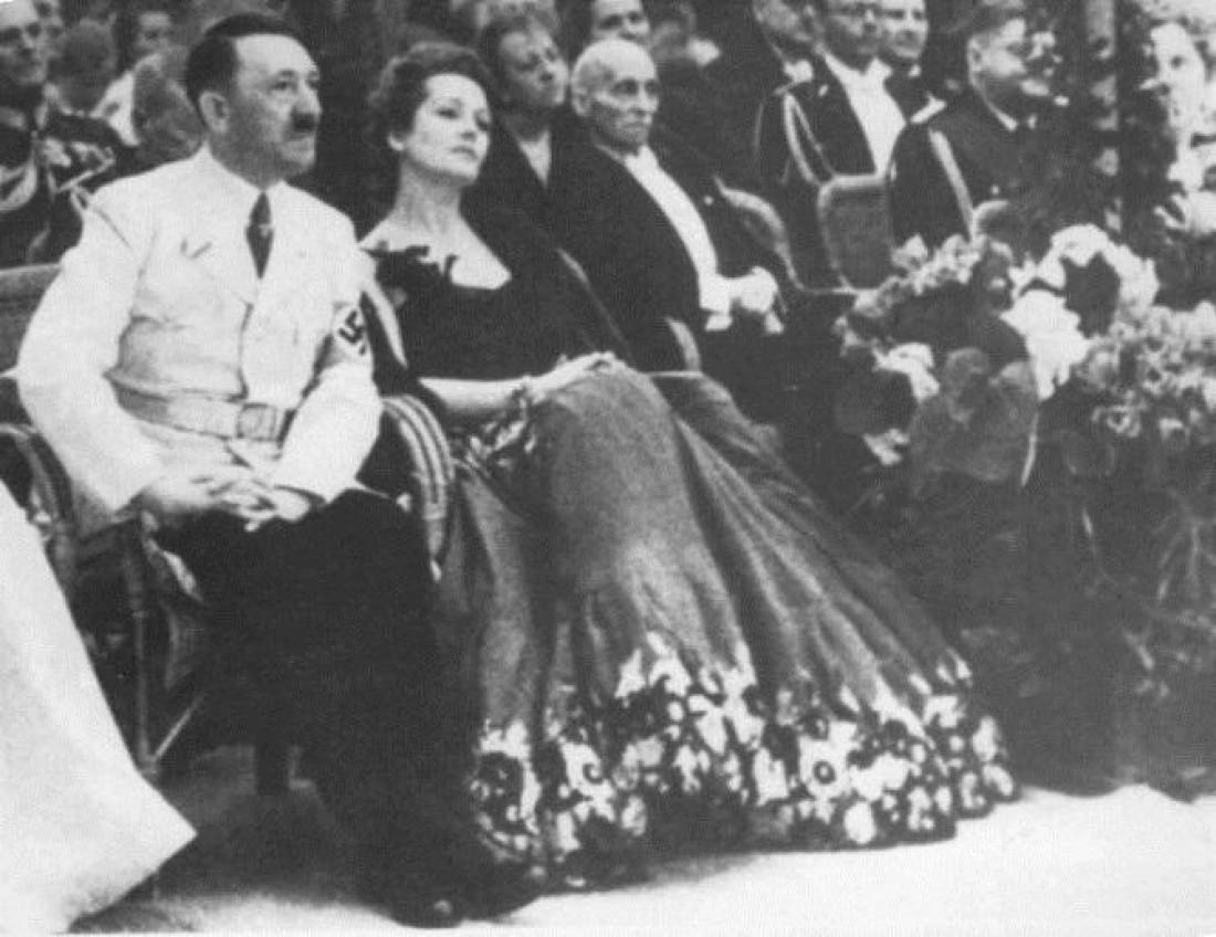 Фюрер и великолепная Ольга Чехова