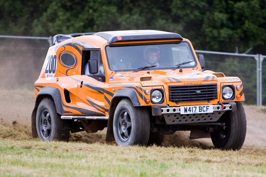Обычно Bowler Wildcat оснащают 5-литровым V8