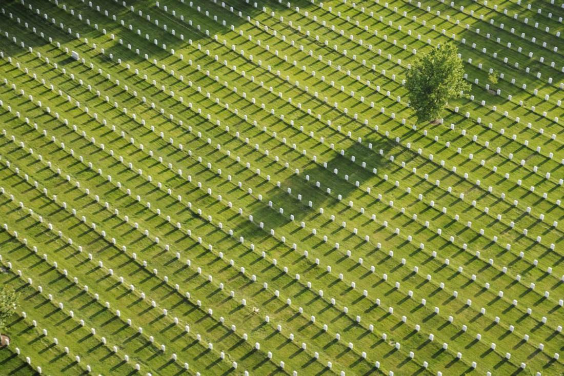 Национальное кладбище Арлингтона, Виргиния, США