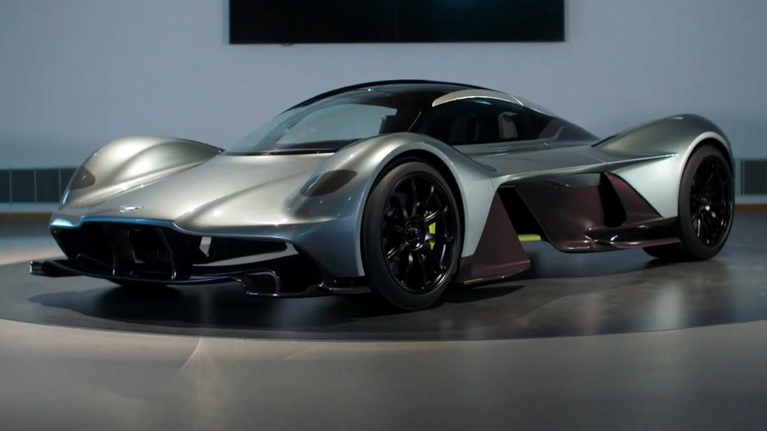 Силовая установка Aston Martin AM-RB 001 — 6-ти или 7-литровый V12