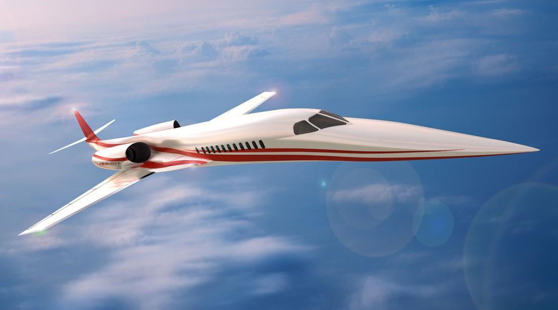 Aerion AS2. Один из самых шустрых пассажирских самолетов в мире