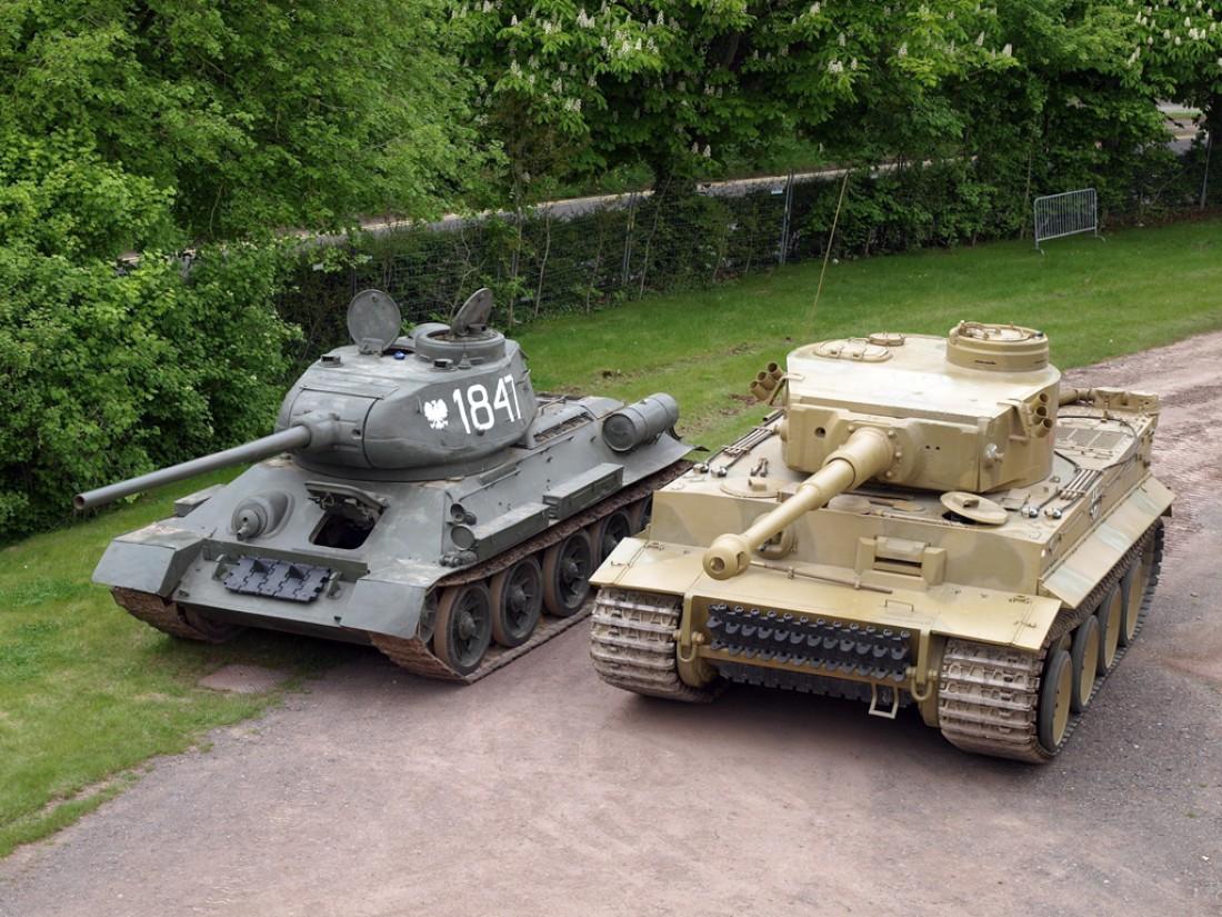 Т-34 и Tiger. Два самых легендарных танка Второй мировой
