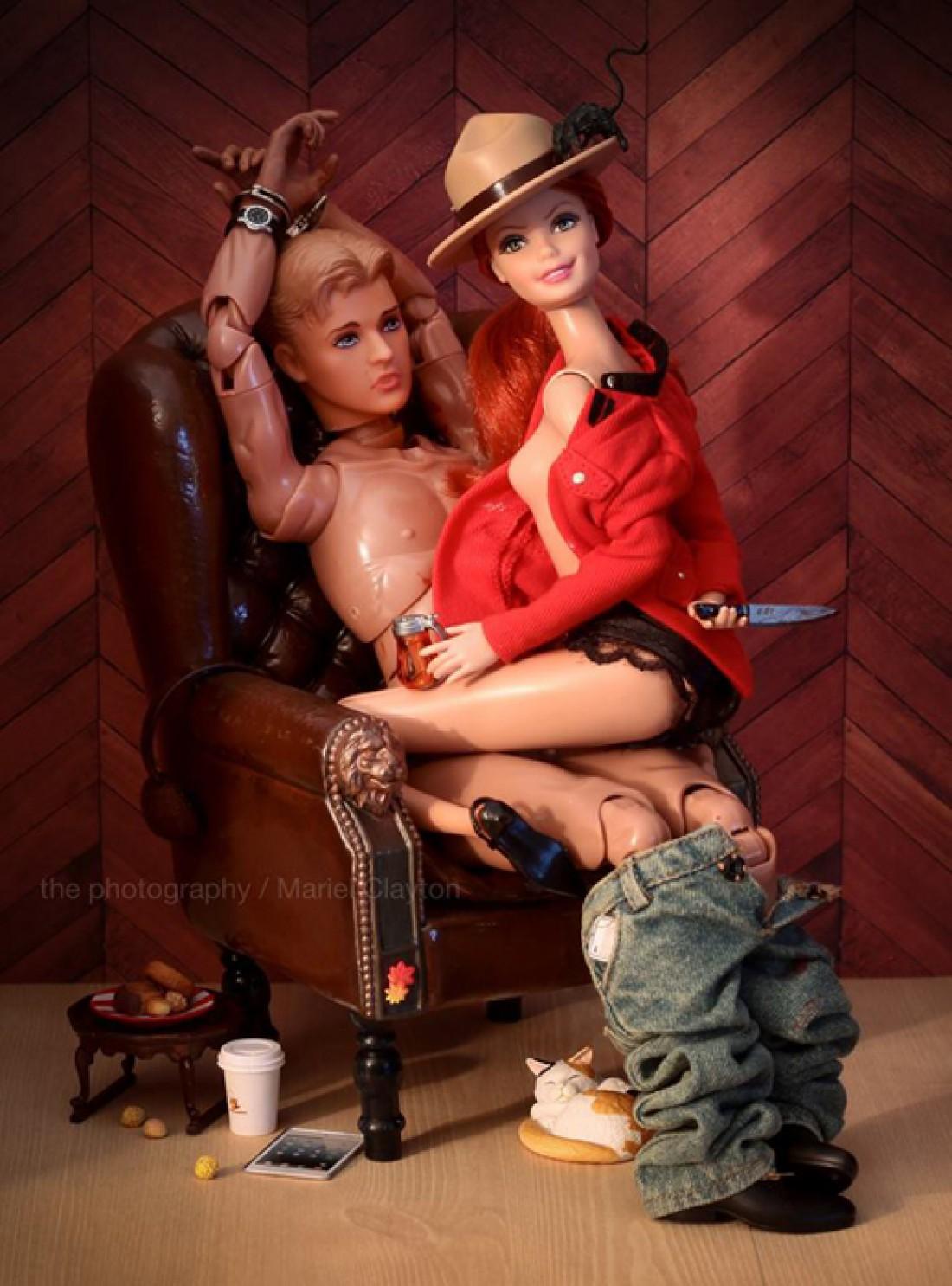 Видео секс барби кукол