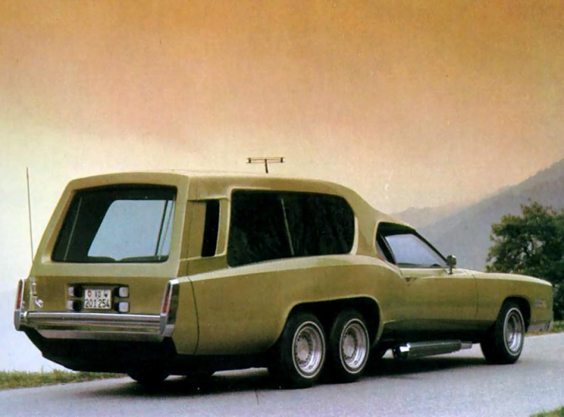 Sbarro Function Car. Дом на колесах, построенный для саудовского бизнесмена