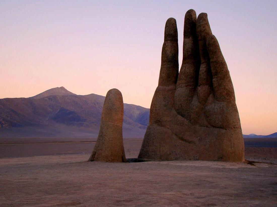 Волшебная чилийская пустыня Атакама со своей главной достопримечательностью