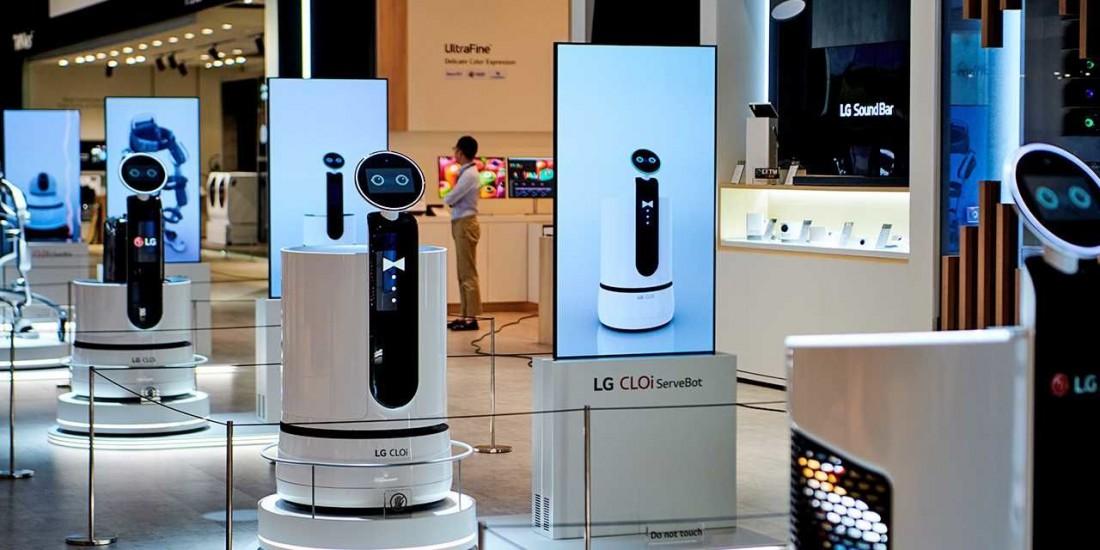Вот так будут выглядеть роботы для покупок