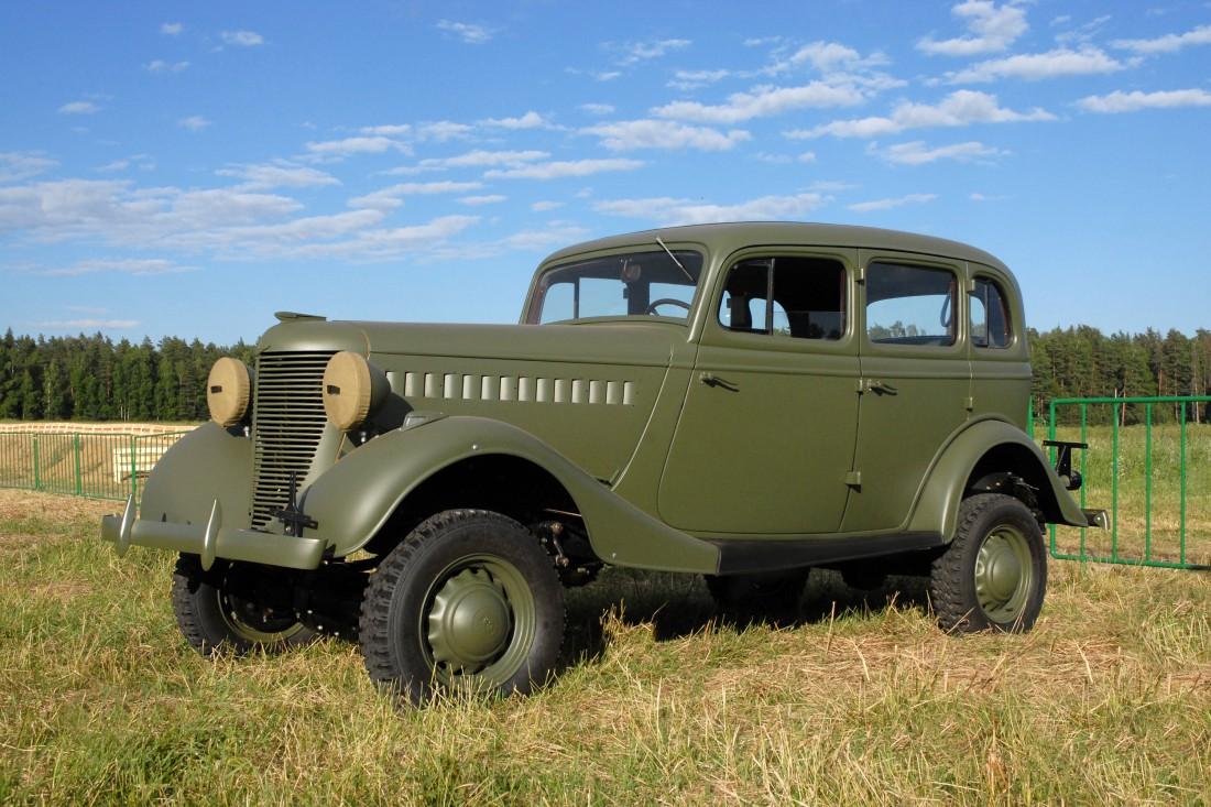 ГАЗ 61-73 — легендарный советский внедорожник времен Второй мировой