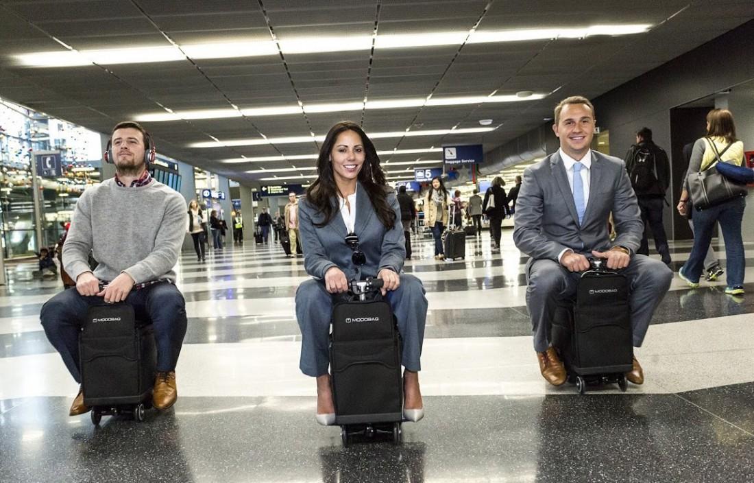 ModoBag — один из самых технологичных чемоданов. Подробности далее