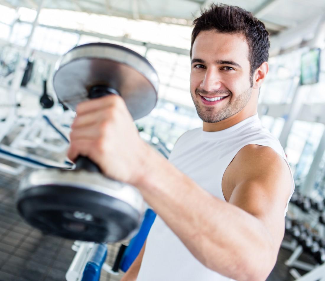 Тяжелые тренировки вырабатывают эндорфин. Итог: ходи чаще в зал