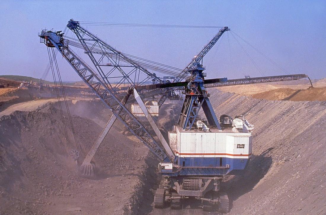 Marion 6360 — покойная самая большая механическая лопата на гусеничном ходу