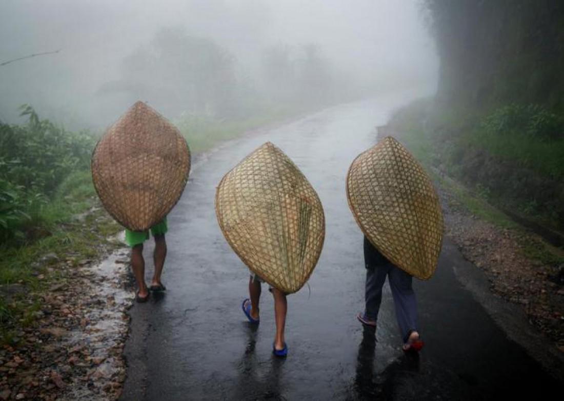Дожди и жители Маусинрам, Индия