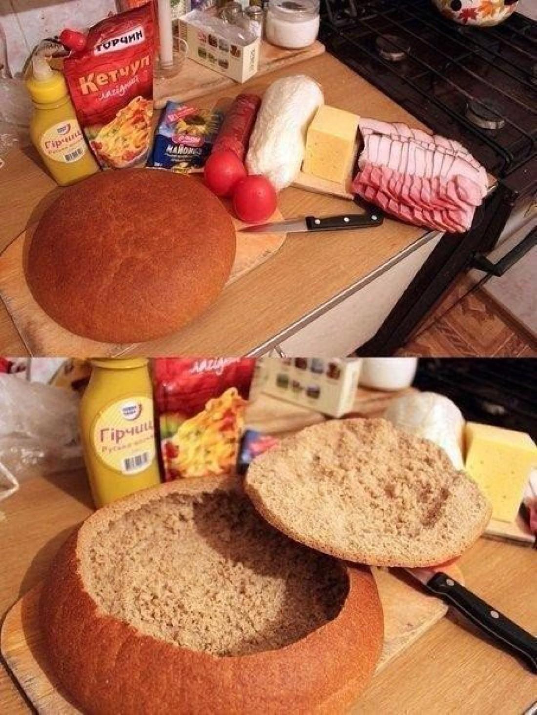 Рецепты завтраков из хлеба