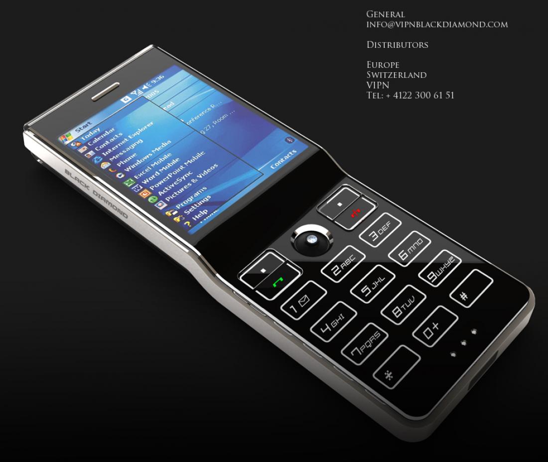 Sony Ericsson Black Diamond — $300 тысяч