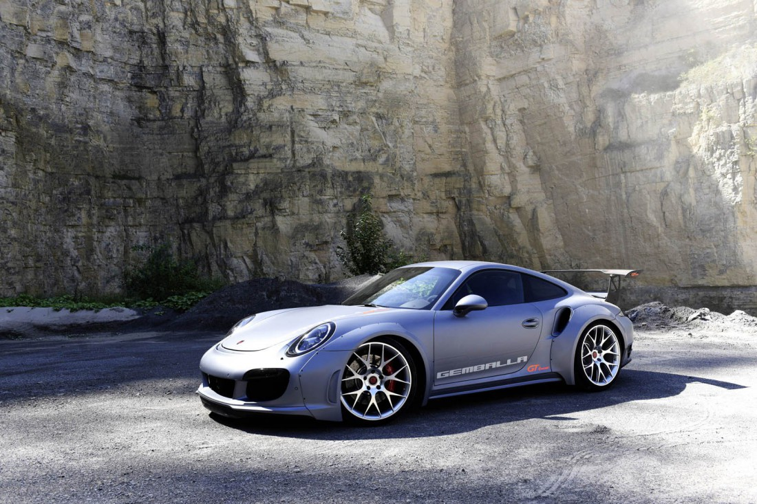 GT Concept — самый динамичный Porsche в истории компании