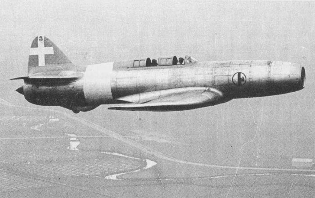 Caproni-Campini N.1 — один из первых в мире летающих реактивных самолетов