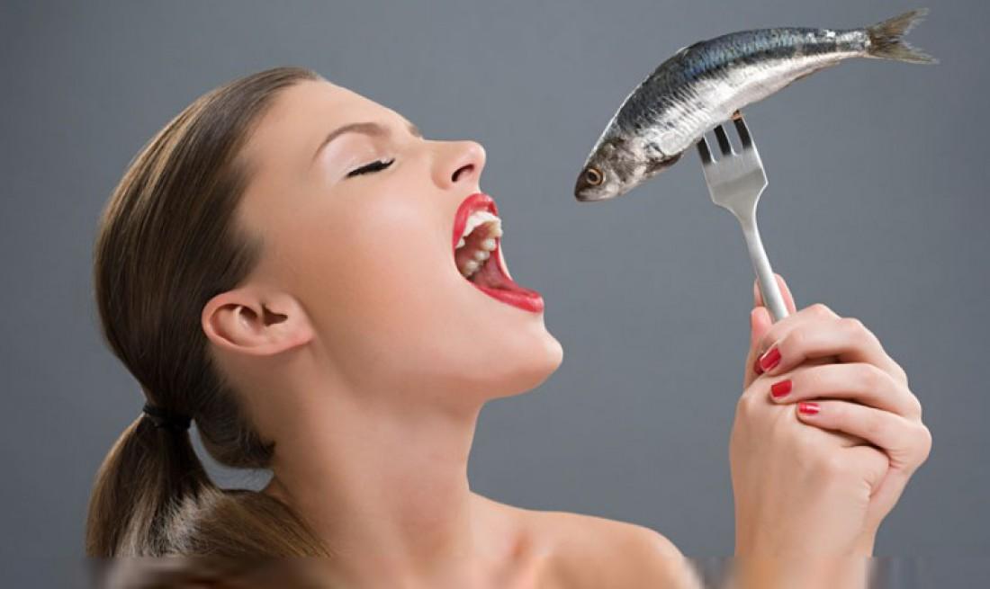 Нужно похудеть — ешь рыбу. И свою женщину ею корми