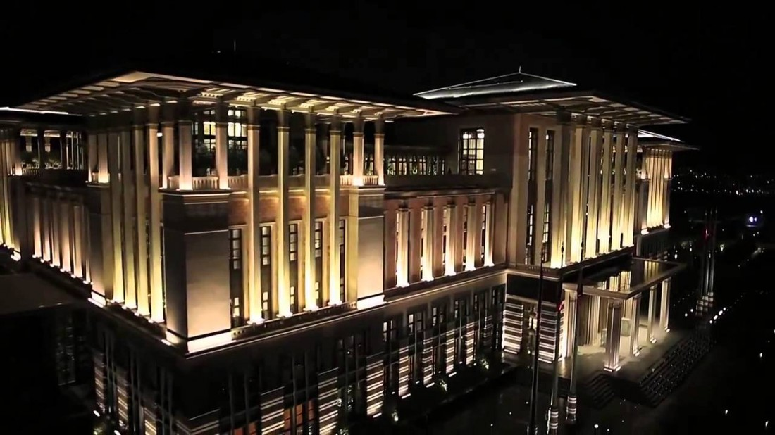 Белый дворец. Официальная резиденция Реджепа Тайипа Эрдогана