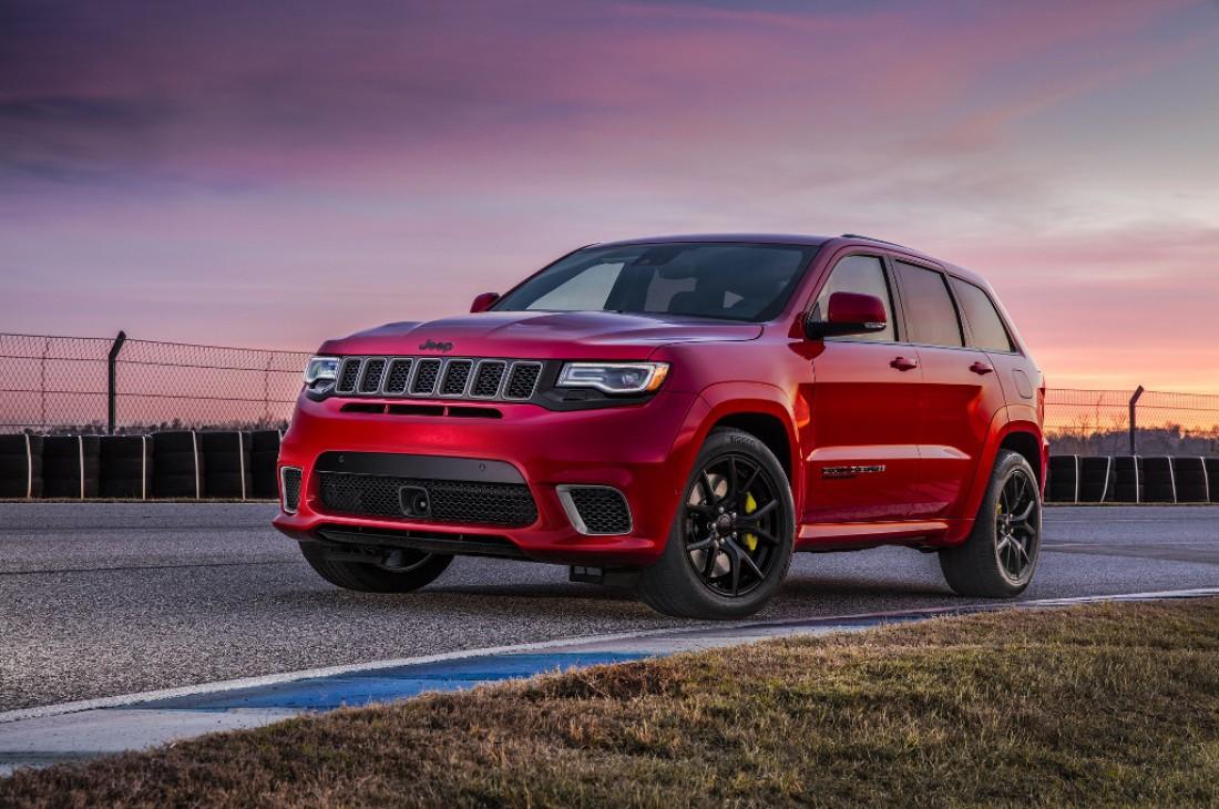 Jeep Grand Cherokee Trackhawk — самый мощный и быстрый в мире внедорожник