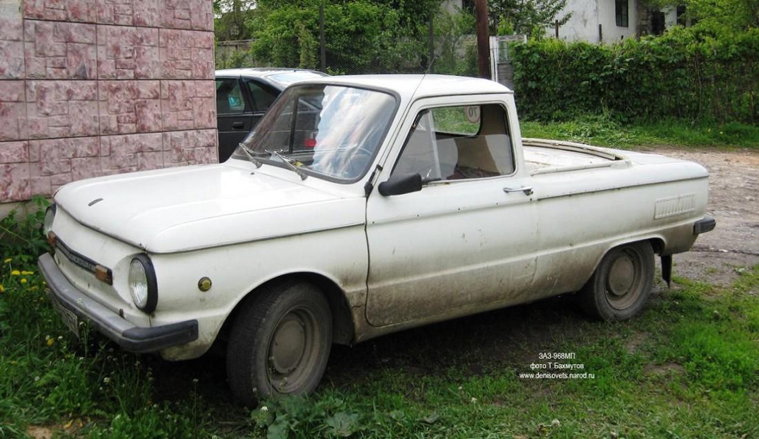 Еще один пикап из семейства Запорожцев — ЗАЗ-968МП