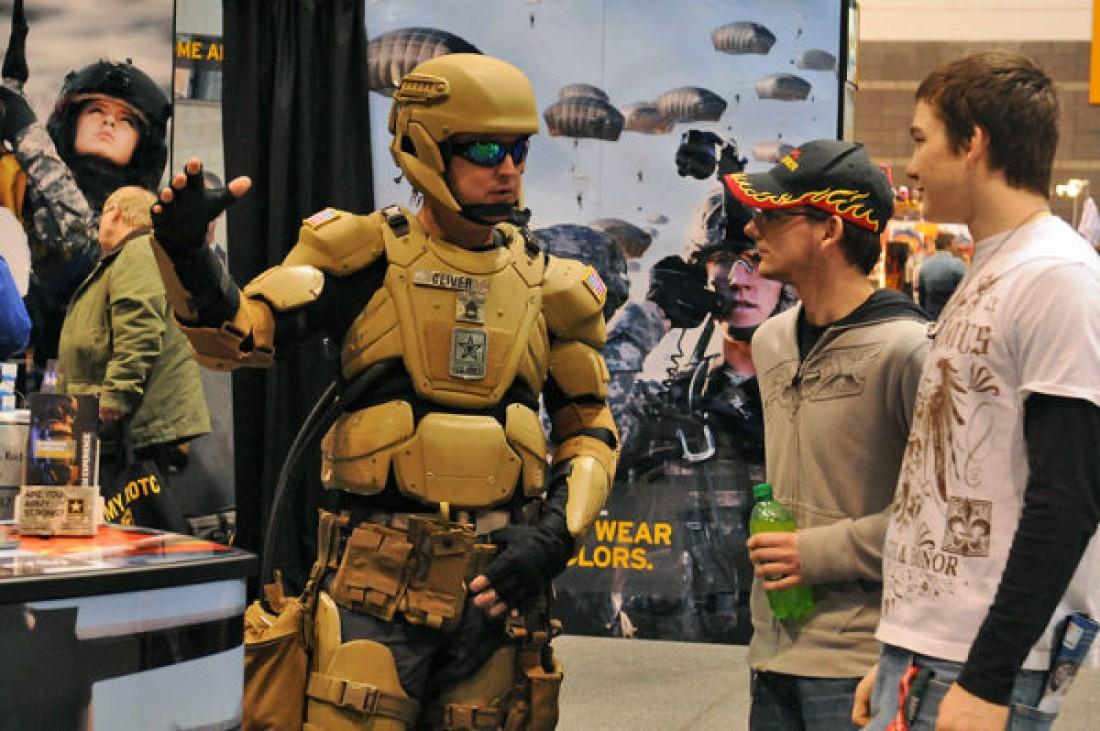 TALOS — бронированный костюм для американских военных