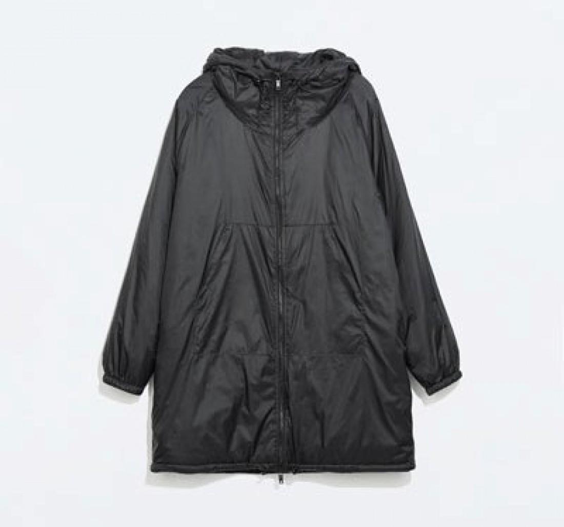 Zara padded oversized — 2 тысячи гривен