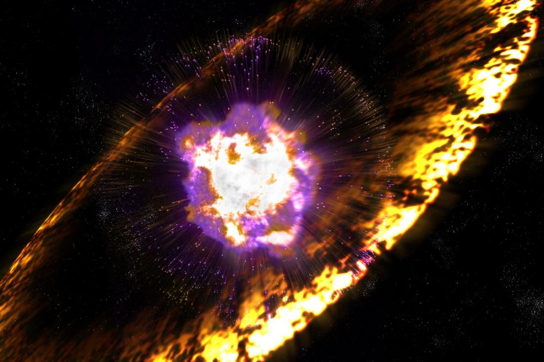 Гамма-всплески выделяют столько энергии, сколько Солнце за 10 лет
