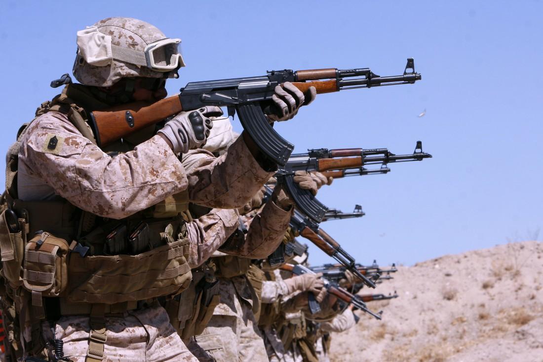 АК-47 побывал практически на всех войнах второй половины XX века