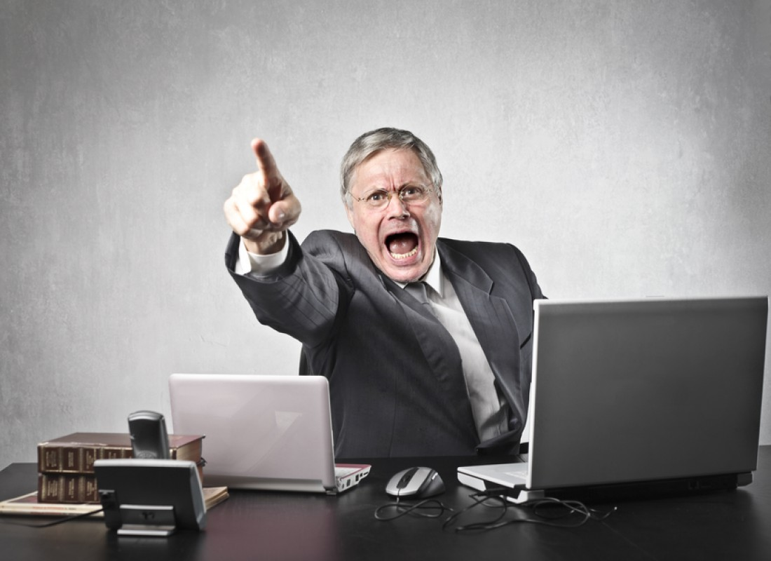 Не нервируй шефа — может лишить премии, или уволить