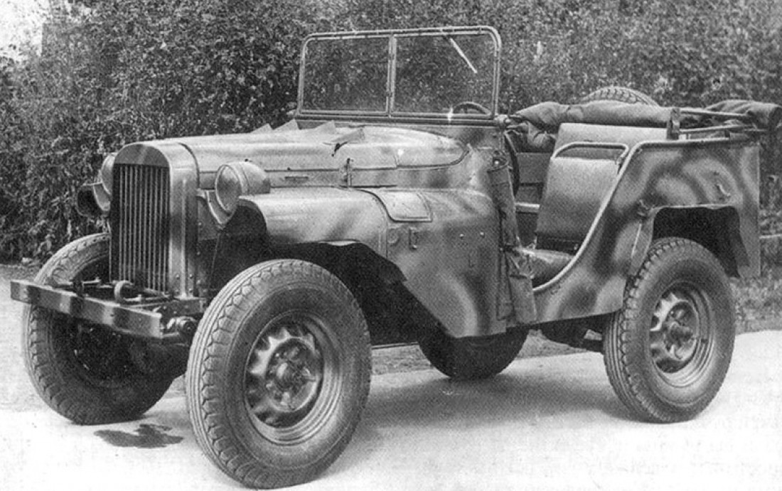 ГАЗ-64. Он же