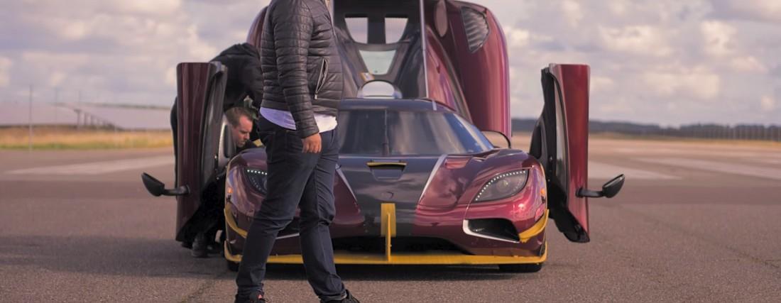 Koenigsegg Agera RS. Готовится к рекорду. Эпично