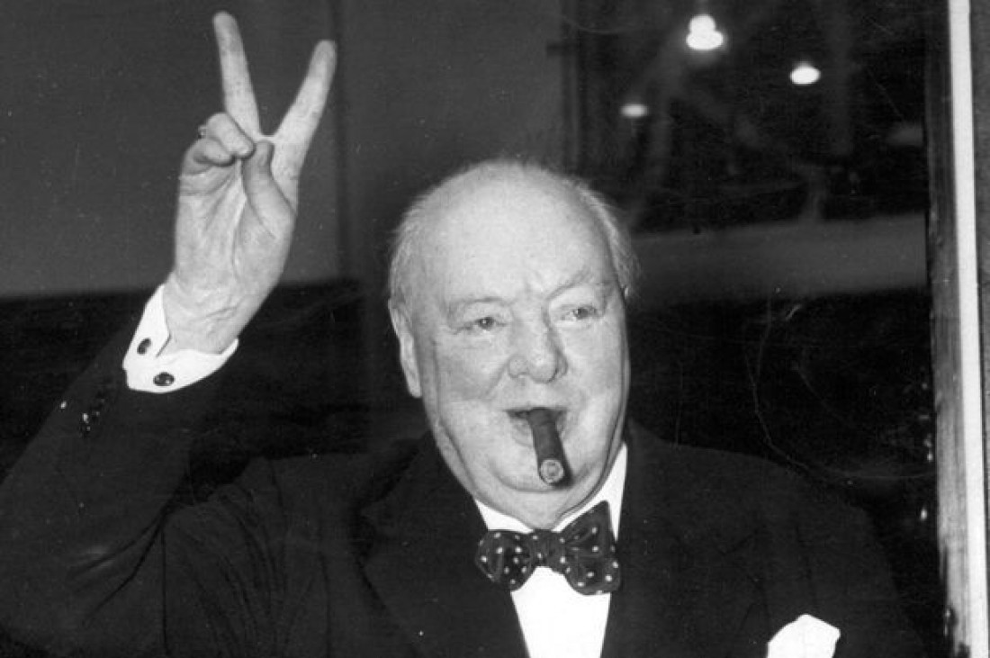 Черчилль курил сигары и был счастлив: так он отдыхал от работы