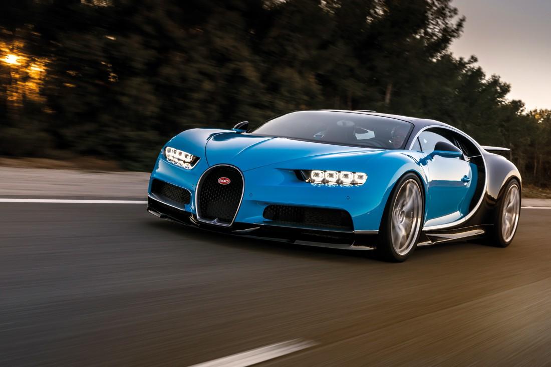 Bugatti Chiron — легендарный гиперкар, один из самых шустрых в мире