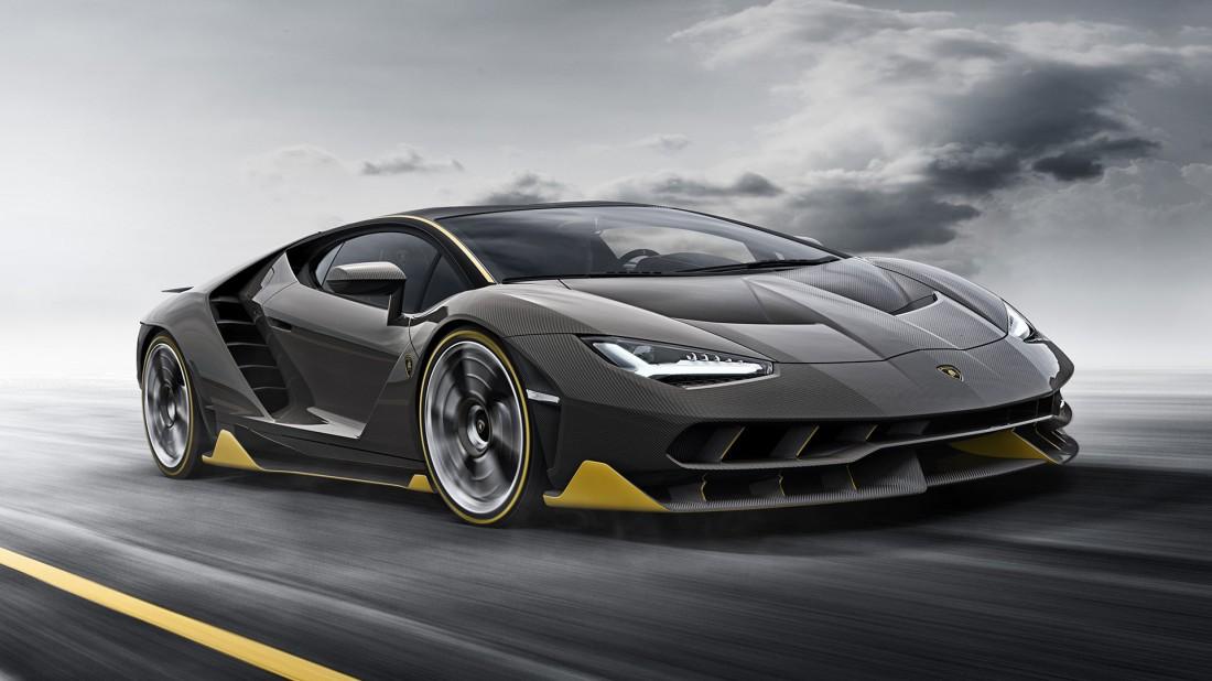 Углепластиковый Lamborghini Centenario