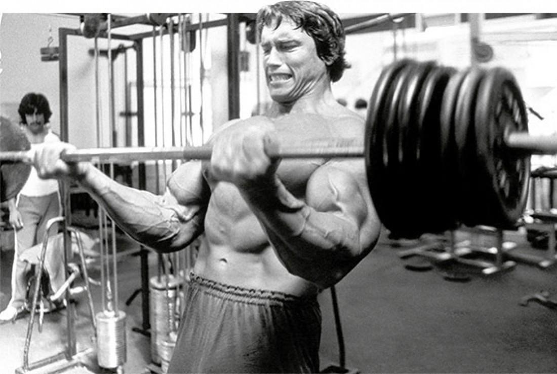 Жми до тех пор, пока не почувствуешь резь в мышцах