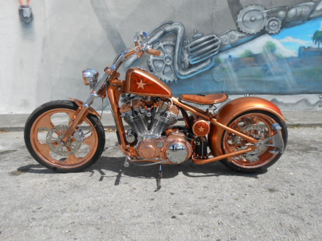 Медный Copper Sportster