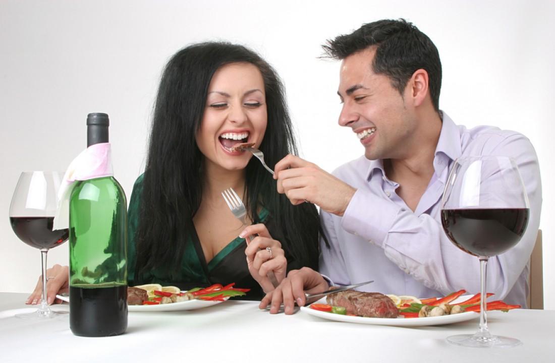 Помни: женщины тоже любят вкусно поесть