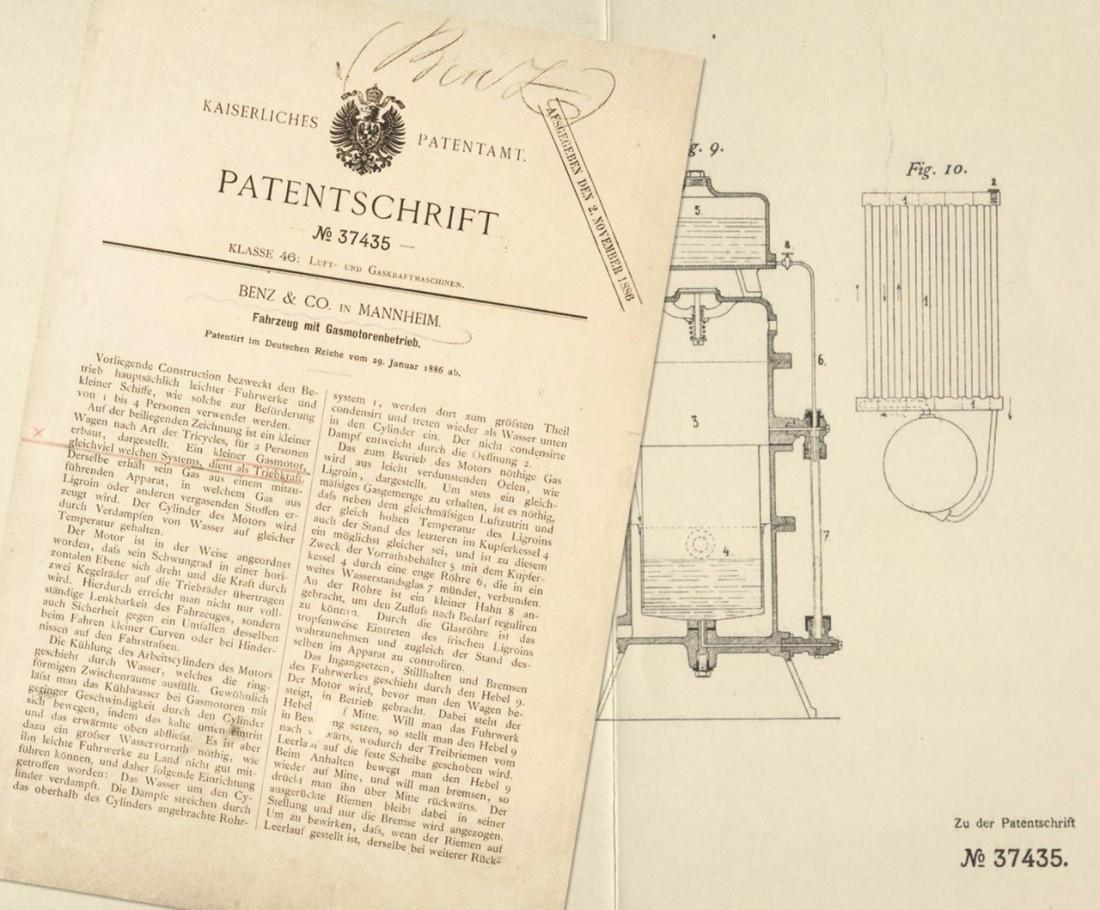 Тот самый Императорский патент DRP-37435