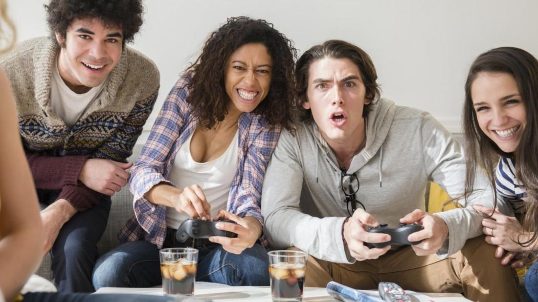 Видеоигры — один из способов приятно провести время компанией