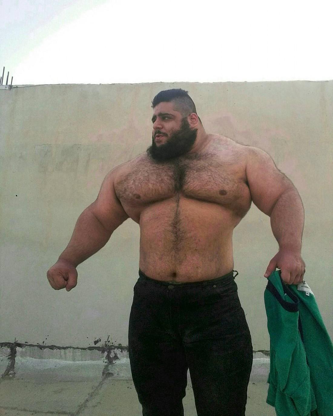 24-летний пауэрлифтер Саджад Гариби (Sajad Gharibi)