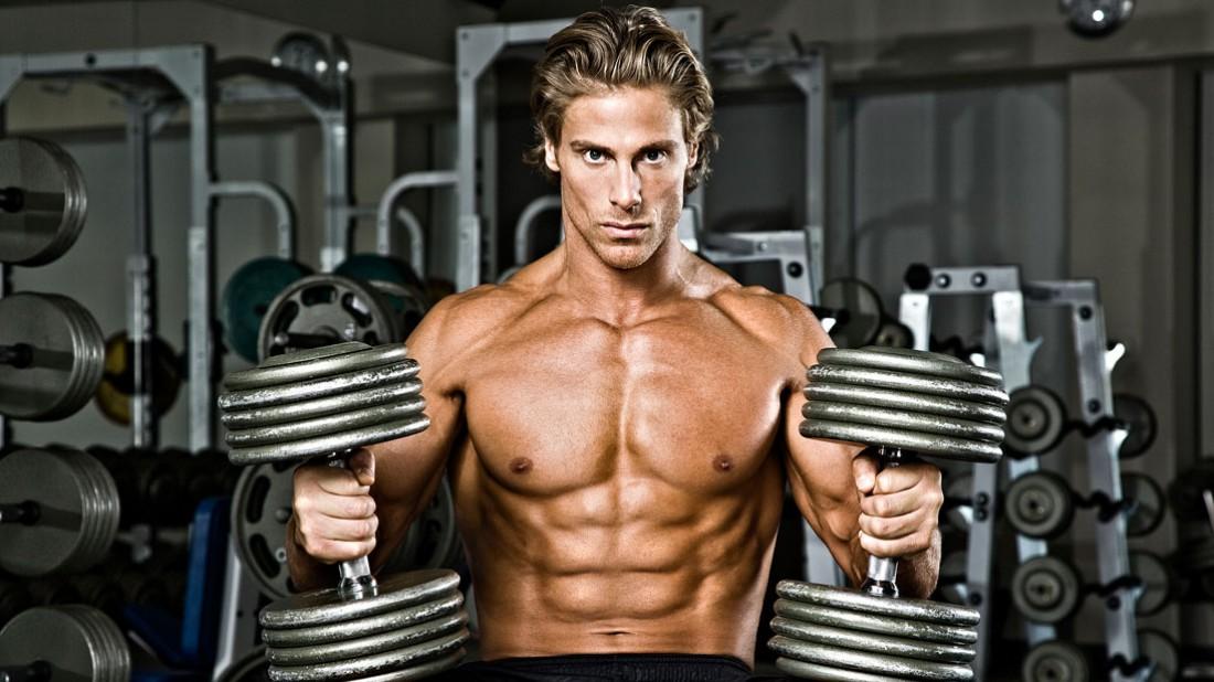 Тренер MuscleTech Марк Мегна. Тренируется каждый раз, как последний раз