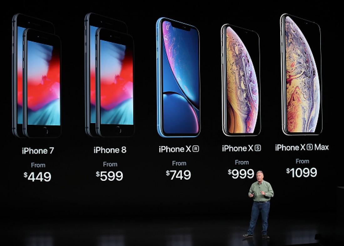 Сравнение цены iPhone XR с другими моделями